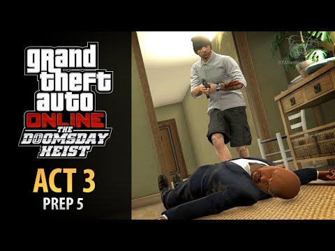 GTA Online: Doomsday Heist Act #3 - Prep: Test Intel Site (Elite & Mastermind II)