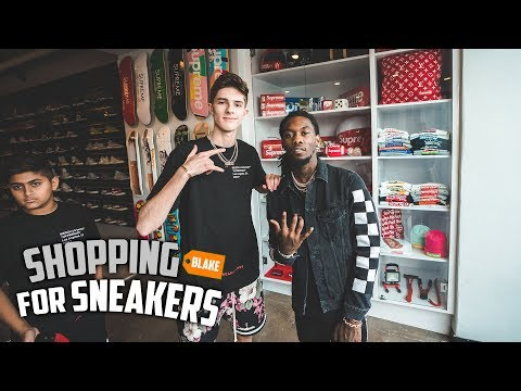 Shopping For Sneakers With Offset From Migos