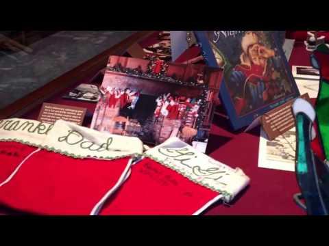 Christmas with the Grahams display