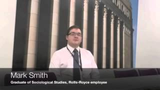 Graduate Story: BA Sociology graduate Mark Smith - video