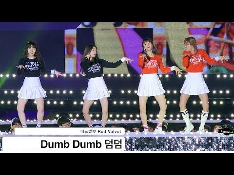 레드벨벳 Red Velvet [4K 직캠]Dumb Dumb 덤덤@20161022 Rock Music