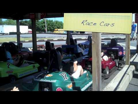 Betances Tours: Ozzy's Fun Center Race Cars