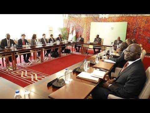 Le Chef de l'Etat a eu une rencontre avec une délégation du FMI