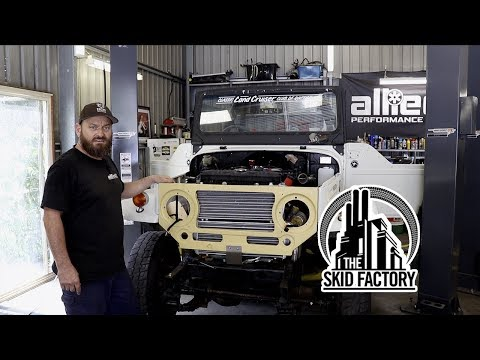 THE SKID FACTORY - V12 Twin Turbo BJ40 LandCruiser [EP5]