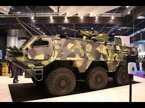 DSEI 2021 John Cockerill from Belgium unveils its CLWS remotely operated weapon station