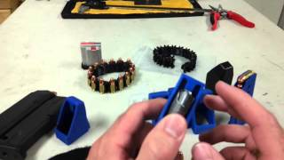 Single stack pistol magazine loader
