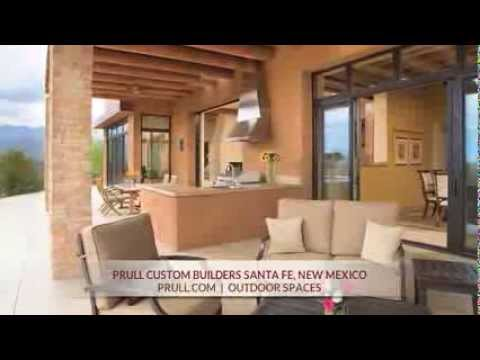 Prull Custom Home Builders in Santa Fe, New Mexico - Outdoor Spaces