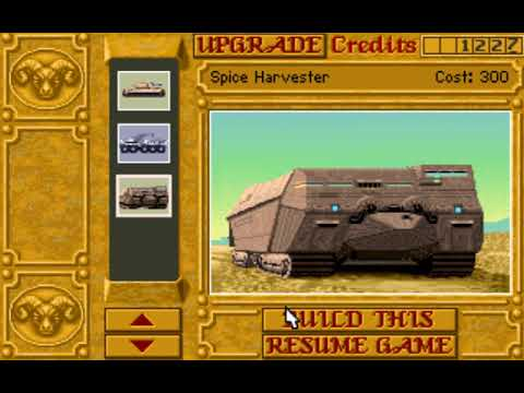 Dune II: The Building of a Dynasty (Harkonnen: Mission 7) (Westwood) (MS-DOS) [1992] [PC Longplay]