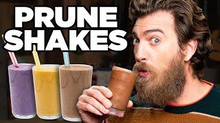 Prune Protein Shake Taste Test