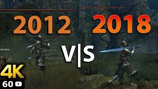 [4K 60FPS] Dark Souls Remastered ? | Vanilla DS VS Modded 2018 Comparison