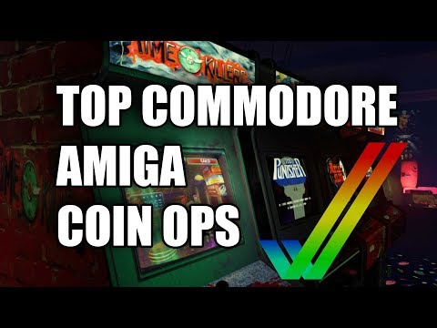 TOP COMMODORE AMIGA COIN OPS