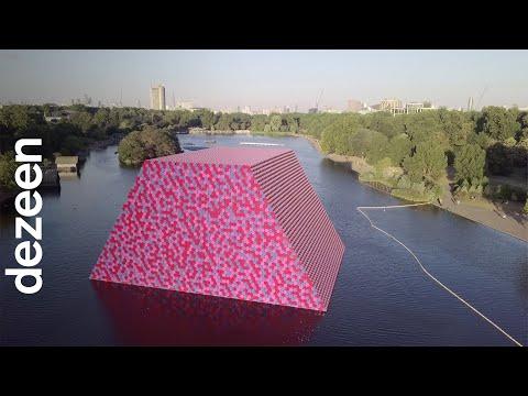 Christo interview: London Mastaba floating installation