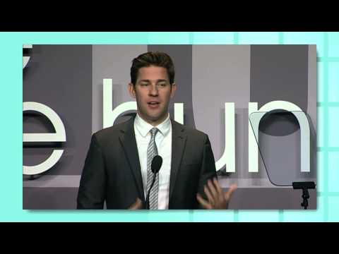 John Krasinski Opening Remarks, 2013 the one hundred - YouTube