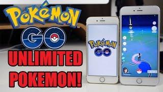 POKEMON GO HACKS! UNLIMITED POKEMON - iOS & ANDROID