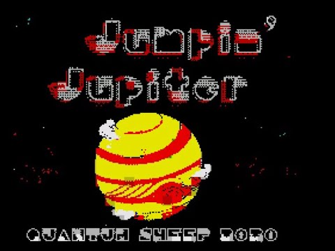 RETROJuegos Homebrew ... Jumpin' Jupiter © 2020. Quantum Sheep (ZX Spectrum) - Por Fabio Didone