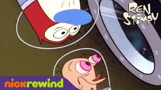 The Space Race | The Ren & Stimpy Show | NickRewind