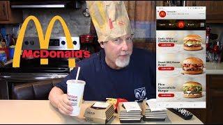 Tasting McDonald's Signature CraftedBurgers