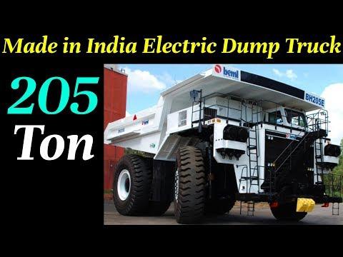 India's First Electric Dump Truck - 205 TON | BH205-E