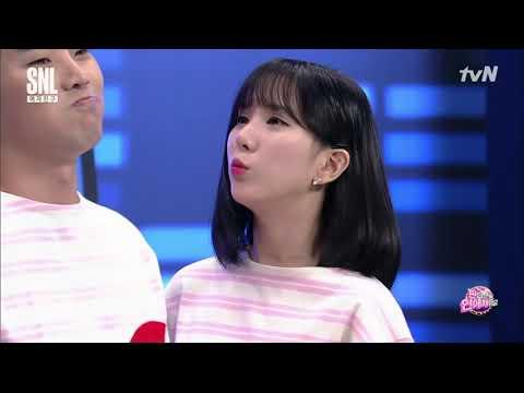170909 Gfriend SNL Best Couple Contest (Eunha) [ENG SPANISH SUB/CC]