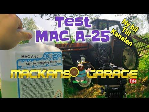 Testar MAC A-25 Från Mackans Garage - Skitig traktor