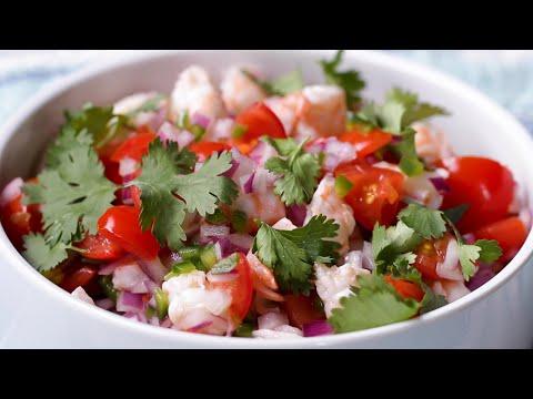 5-Ingredient Shrimp Ceviche ?Tasty