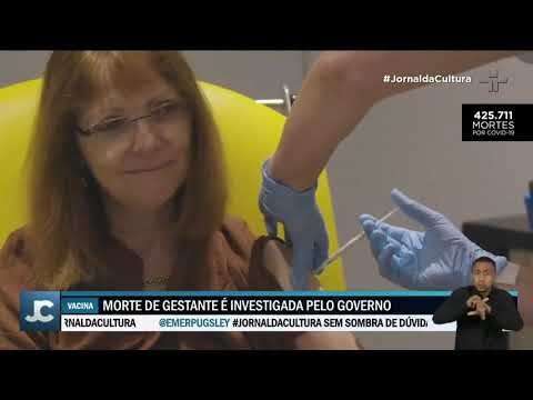 Ministério da saúde suspende vacinação contra Covid-19 em grávidas com imunizante da AstraZeneca