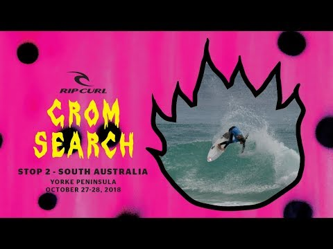 The 2018 Rip Curl GromSearch: Stop 4, Yorke Peninsula, SA