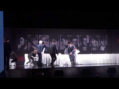 힘 좀 쓰는 슈퍼주니어 (슈퍼주니어 Super Junior Devil 데빌 기자회견)