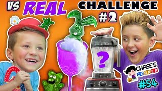 Chase's Corner: GUMMY vs REAL Halloween Edition (#54)   DOH MUCH FUN