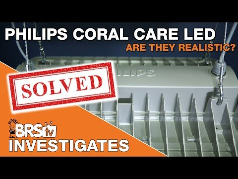 BRStv Investigates: Testing the Philips Coral Care LED's claims - Are they realistic?