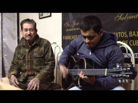 Jorge Loayzat y Don José Hernandez, el señor legendario de los bajosextos