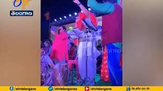 Watch: BJP Nominee Croons Telugu Song to Woo Voters in Pur..