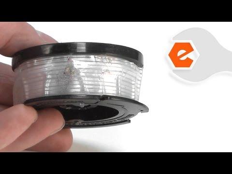 Trimmer Repair - Replacing the Spool (Black & Decker Part # 90564281)