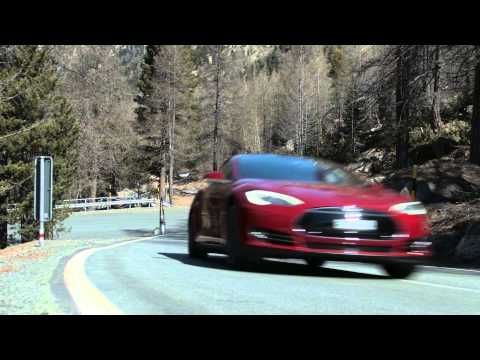 From city to mountain. Watch all-wheel drive Model S P85D take on Switzerland in all seasons.