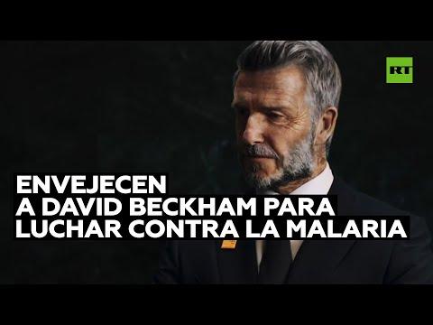 David Beckham luce como si tuviera 70 años en una campaña contra la malaria