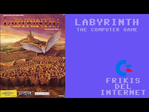 Labyrinth: The Computer Game (c64) - Walkthrough comentado (RTA) #Frikis del Internet