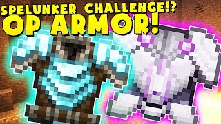 THE MOST OVERPOWERED LOOT IN MINECRAFT - MINECRAFT TREASURE SPELUNKER MODDED CHALLENGE
