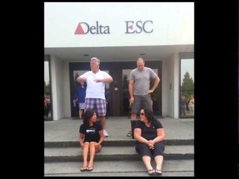 Ice Bucket Challenge Delta Controls - Vicky and Shantel