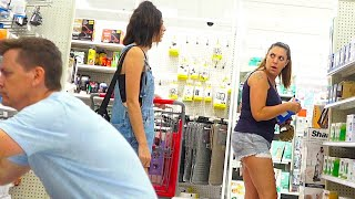 Farting at Target with THE POOTER - New Funny Fart Prank