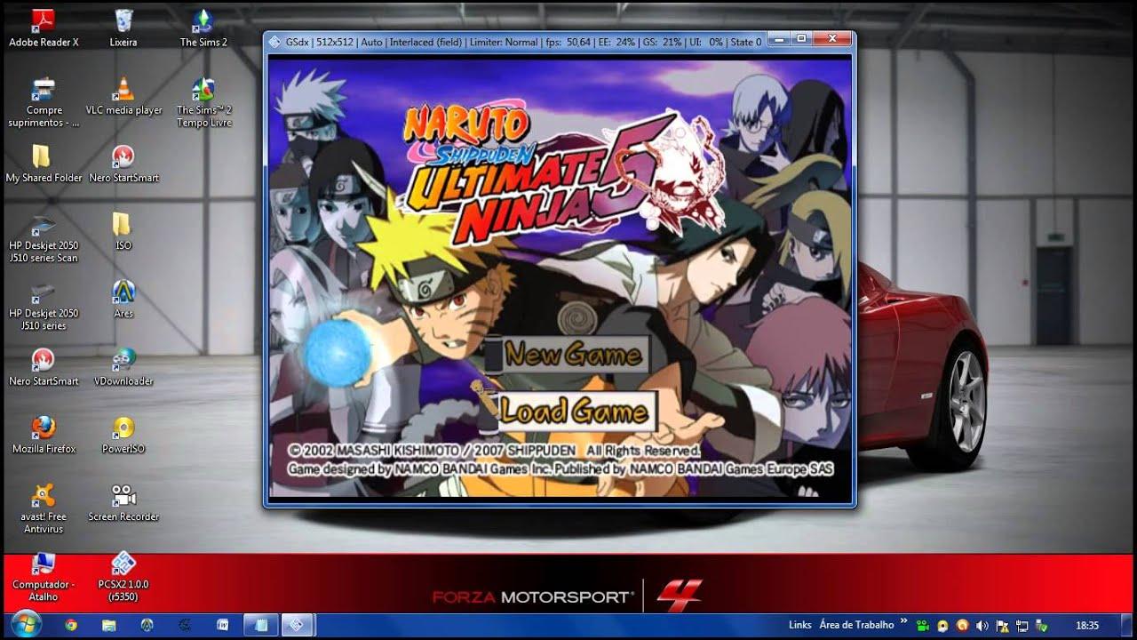 Download game naruto ultimate ninja 5 for pc full version.