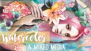 WATERCOLOR       & Mixed Media Artist