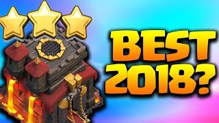 Best TH10 3 Star Attack Strategy for 2018 in Clash of Clans?!
