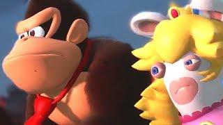 Donkey Kong Adventure DLC For Mario + Rabbids + DK Rap | E3 2018 Gameplay - Community Game