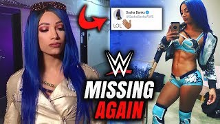 Sasha Banks CAREER CHANGING ANNOUNCEMENT THAT TAKES HER AWAY FROM WWE!