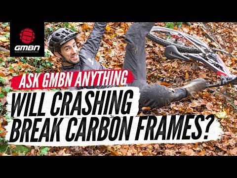 "Will Crashing Break A Carbon MTB Frame"" | Ask GMBN Anything About Mountain Biking"
