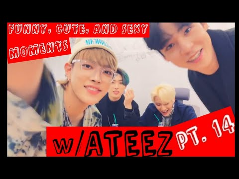 Funny, Cute and Sexy Moments w/ ATEEZ pt. 14