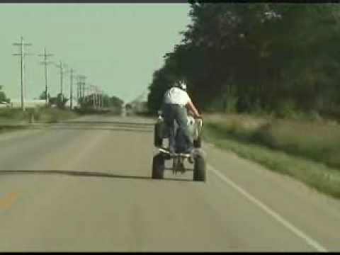 longest atv wheelie on youtube