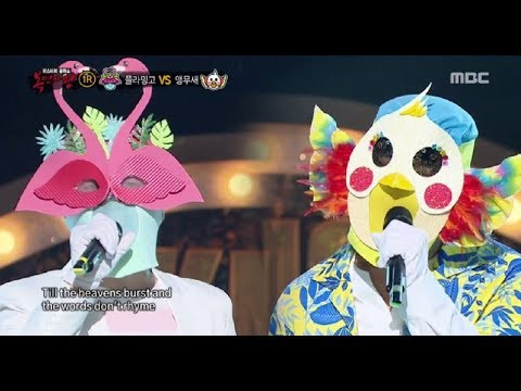 [King of masked singer] 복면가왕 - 'flamingo' VS 'parrot' 1round - Always 20170806