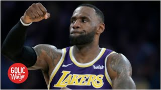 LeBron is a 'dangerous guy' when he is provoked – Mike Golic Jr. | Golic and Wingo