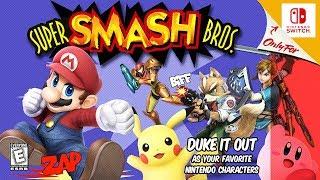 Super Smash Bros. Ultimate - N64 Style Intro | Great-Bit Arcade
